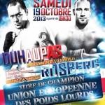 Sur le ring abbevillois : titre champion d'Europe