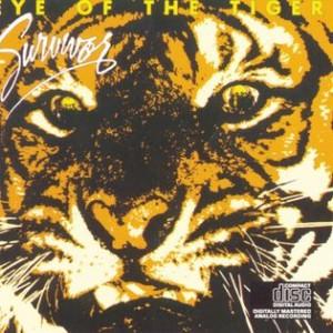 Pochette album Eye of the Tiger, Survivor 1982