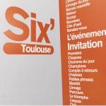 Carton 6'Minutes Toulouse