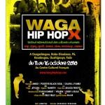 Affiche Festival Waga Hip Hop