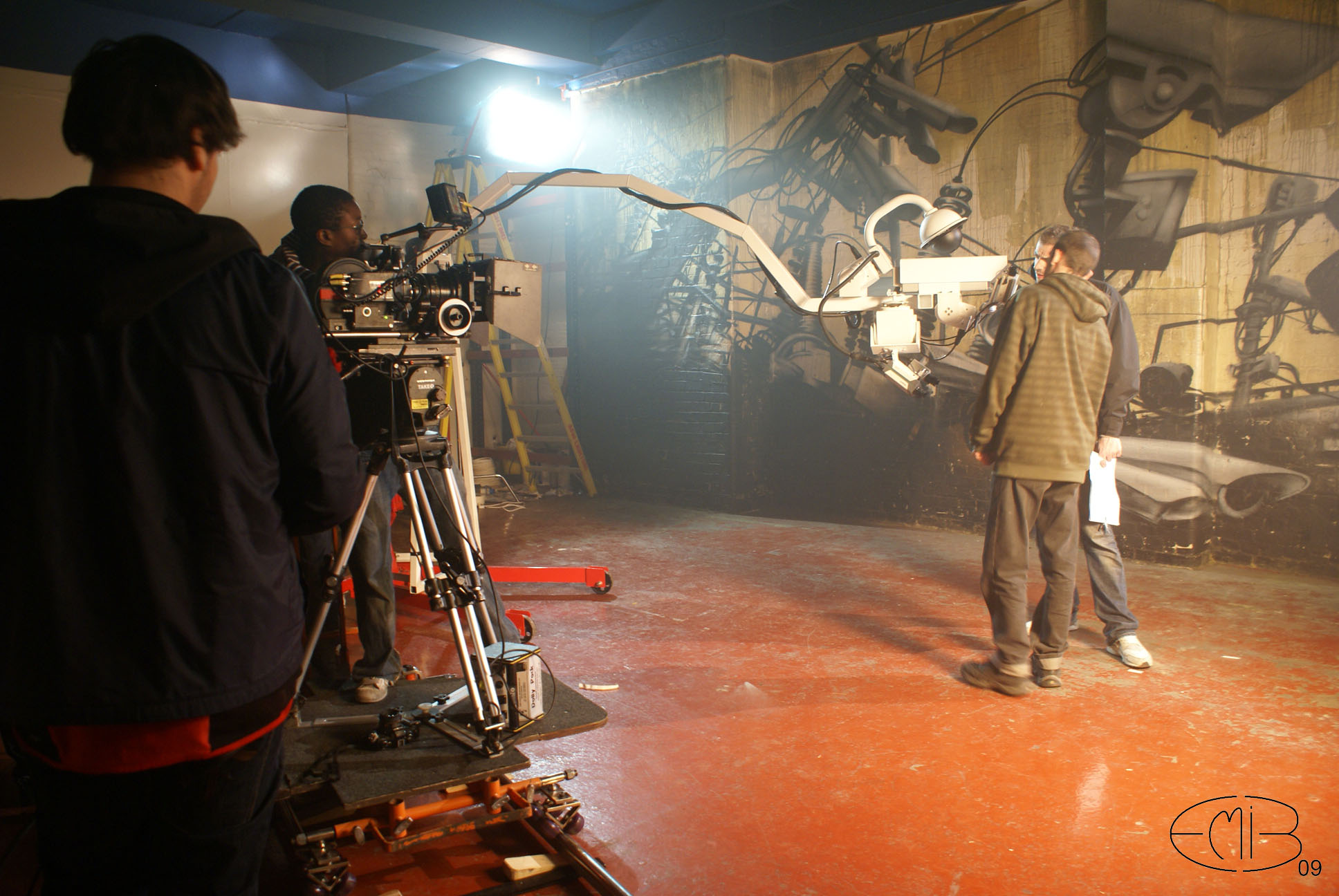 "6 - Making of clip ""Hat Low"" 2009"