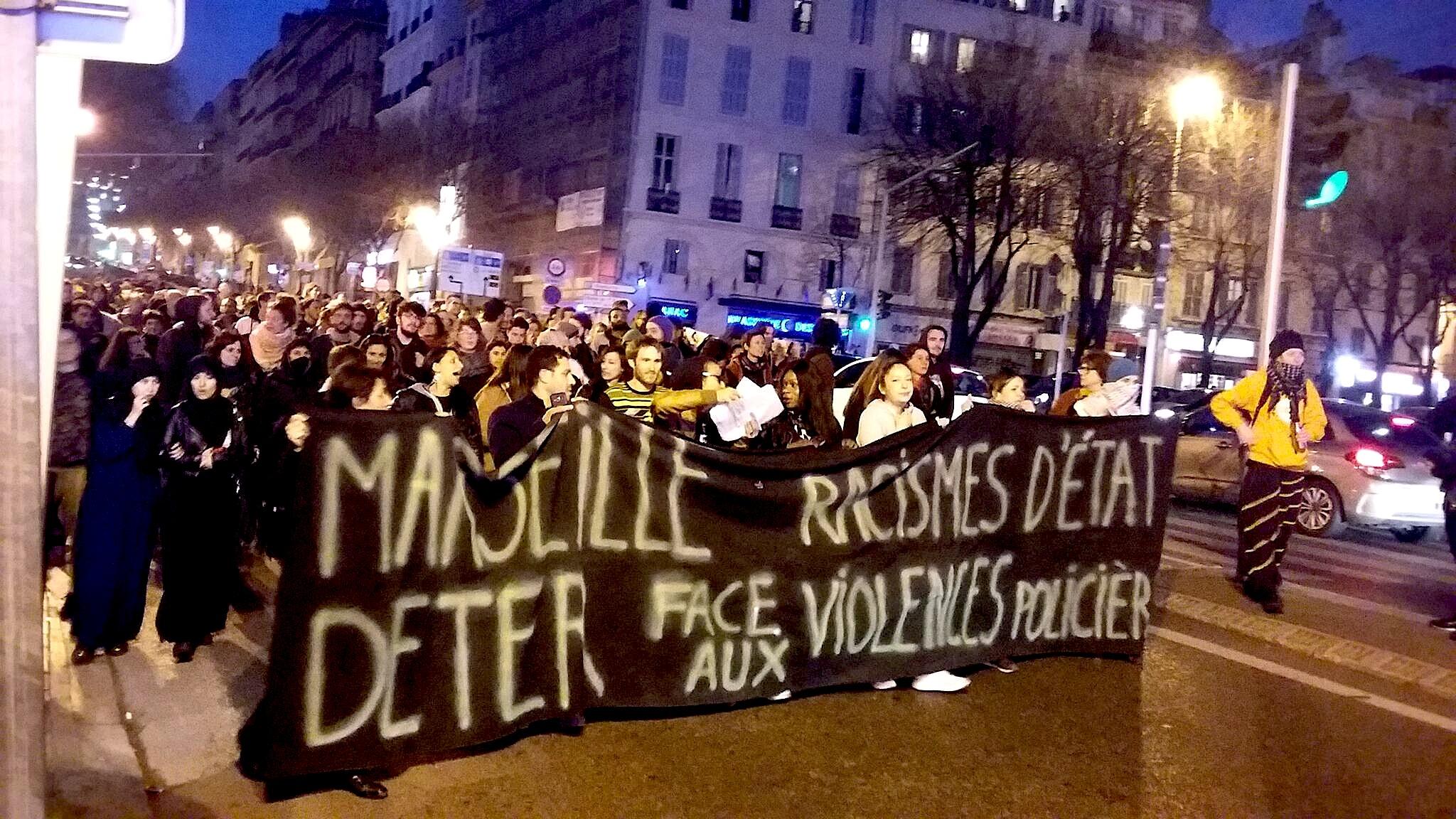 Marseille, debout et en marche Marche Marseille 17/03/2017